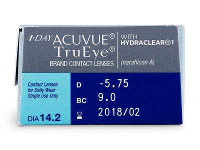 1 Day Acuvue TruEye (30db lencse)