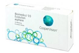 Biomedics 55 Evolution (6db lencse) - Cooper Vision