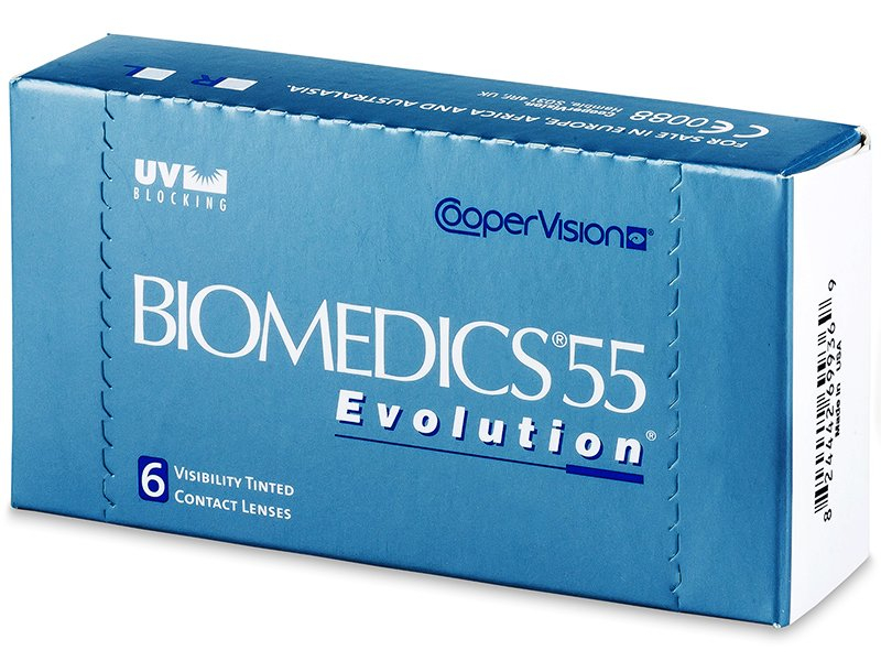 Biomedics 55 Evolution (6 db lencse)