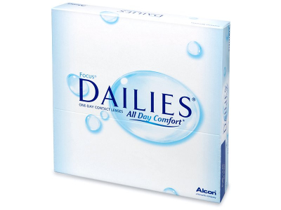 Focus Dailies All Day Comfort (90db lencse)