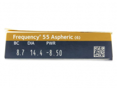 Frequency 55 Aspheric (6 db lencse)