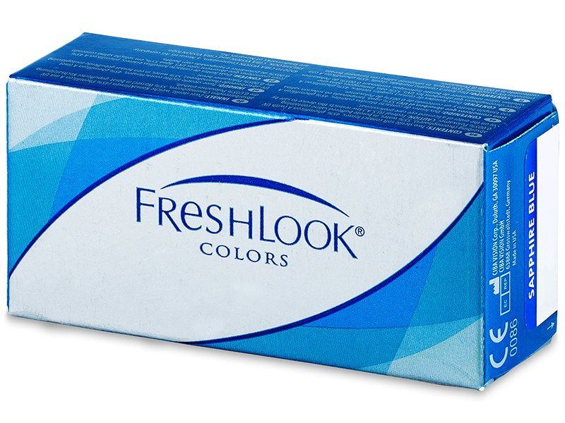 FreshLook Colors - dioptriával (2db lencse)