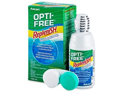 OPTI-FREE RepleniSH kontaktlencse folyadék 120ml