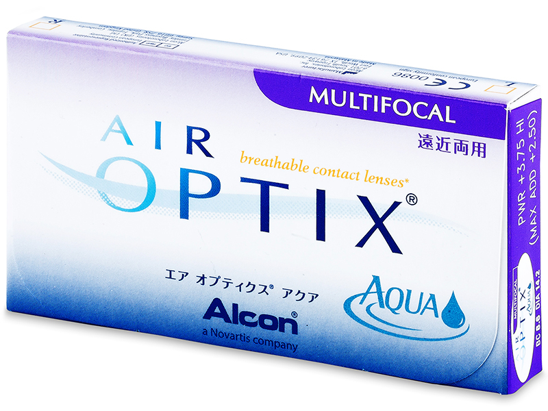 Air Optix Aqua Multifocal (6 db lencse)