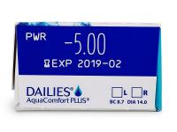 Dailies AquaComfort Plus (30db lencse)