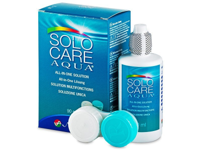 SoloCare Aqua kontaktlencse folyadék 90ml