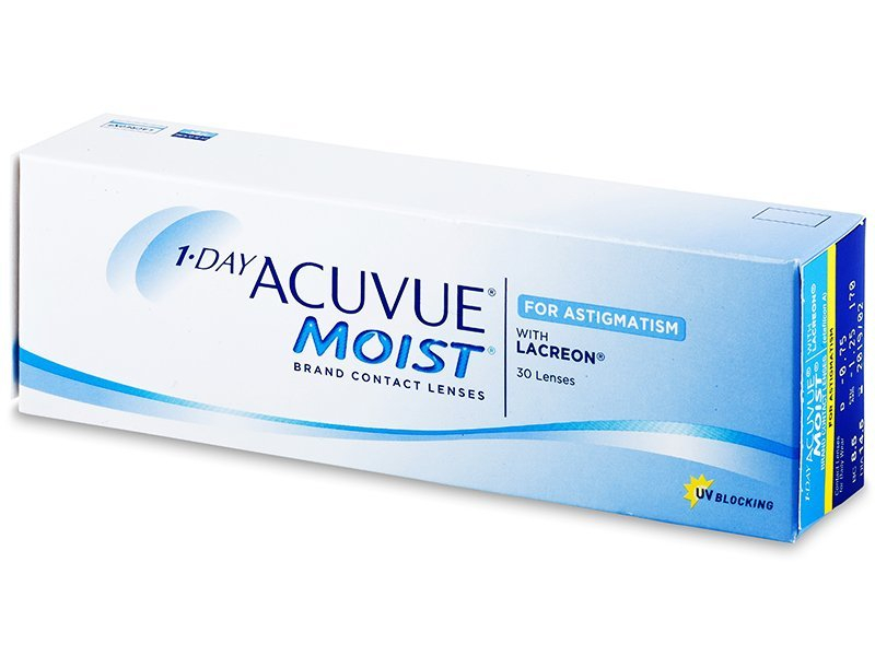 1 Day Acuvue Moist for Astigmatism (30db lencse)