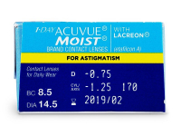 1 Day Acuvue Moist for Astigmatism (30 db lencse)
