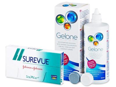 Surevue (6db lencse) + 360mlGelone ápolószer
