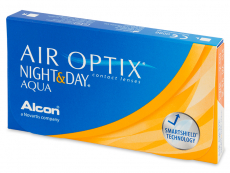 Air Optix Night and Day Aqua (6 db lencse)